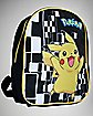 Pokemon Pikachu Black Backpack