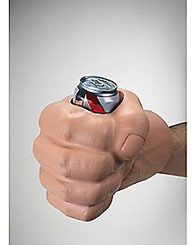 Drinking Fist Can Cooler