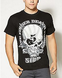 One Two  Five Finger Death Punch T shirt