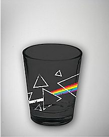 Dark Side Of The Moon Pink Floyd Shot Glass 2 oz