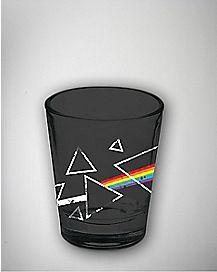 Dark Side Of The Moon Pink Floyd Shot Glass 2 oz