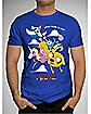 Adventure Time Group Cloud Tee