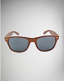 Bali Faux Wood Sunglasses