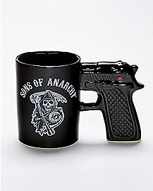 Gun Handle Sons of Anarchy Gun Mug 16 oz