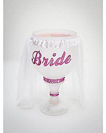 Bride with Veil Pimp Cup