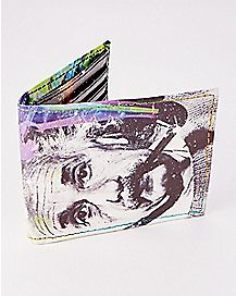 Cosmic Smoke Einstein Bifold Wallet