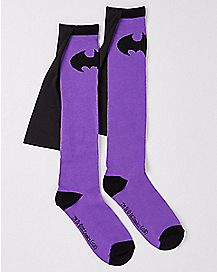 Batman Caped Knee High Socks - DC Comics