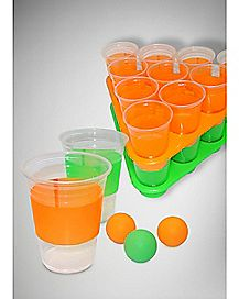 Black Light Beer Pong Rack