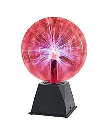 Sound Activated Plasma Light Ball - 8 Inch