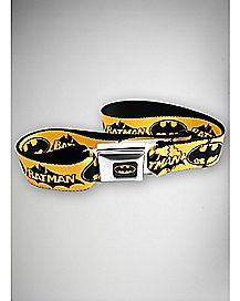 Batman Strap Seatbelt Belt Yellow