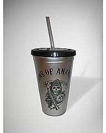 Sons of Anarchy Cup with Straw