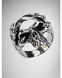 Alien Skull Ring