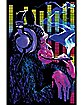 Funky Monkey Blacklight Poster