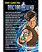 Things I Learned Dr.Who Poster