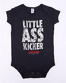 Little Ass Kicker The Walking Dead Baby Bodysuit