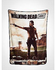 Rick Grimes The Walking Dead Fleece Blanket