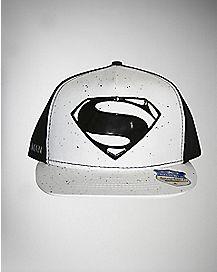 Speckled Man of Steel Superman Snapback Hat - DC Comics