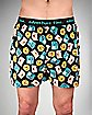 Adventure Time Chracter Print Mens Boxers