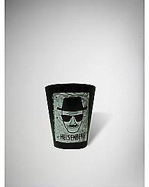 Opaque Breaking Bad Sketch Shot Glass 3 oz