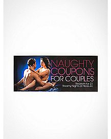 Naughty Coupons for Couples: Redeem for 23 Steamy Nights of Pleasure