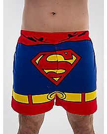 Detachable Cape Boxer - Superman