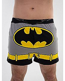 Batman Men's Boxers with Detachable Cape