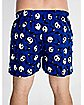 Nightmare Before Christmas Blue Boxers