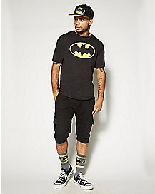 Batman Logo Pullover T Shirt - DC Comics