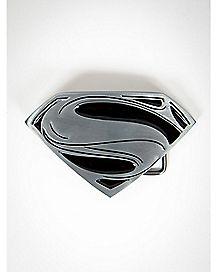 Man of Steel Logo Superman Belt Buckle
