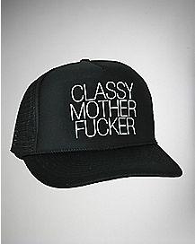 Classy Mother Fucker Trucker Hat