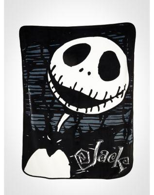 Nightmare Before Christmas Thorny Jack Fleece Blanket