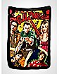 The Big Bang Theory Comic Bazinga Fleece Blanket