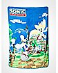 Sonic Coral Fleece Blanket