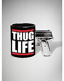 Gun Handle Thug Life Mug