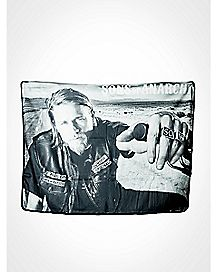Jax Teller Sons of Anarchy Fleece Blanket