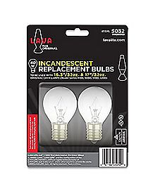 40 Watt Incandescent Lava Lamp Replacement Light Bulb Pack