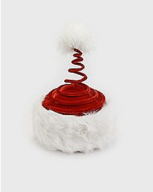 Springy Santa Hat