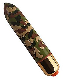7 Speed Waterproof Vibrator- 3.5 Inch Camouflage