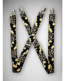 Batman Black & Yellow Suspenders - DC Comics