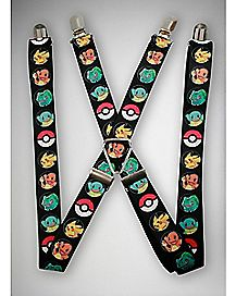 Character Pokemon Suspenders