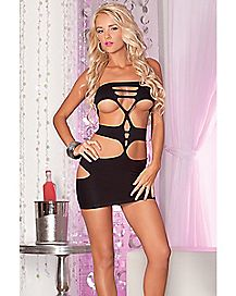 Nocturnal Seamless Mini Cut Out Dress