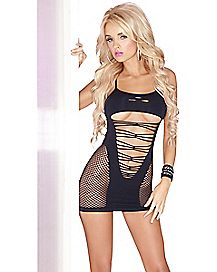 All Nighter Seamless Dress - Black