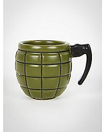 Grenade Shot Glass 2 oz
