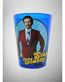 Stay Classy Anchorman Shot Glass