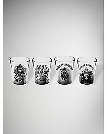 Sons of Anarchy Shot Glass Set 4 oz