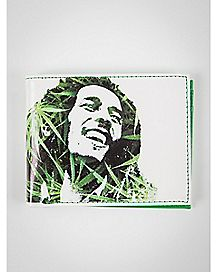 Leaves Bob Marley Bifold Wallet