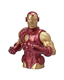Bust Iron Man Bank - Marvel Comics