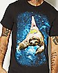 Patrick on Sloth Spongebob T shirt