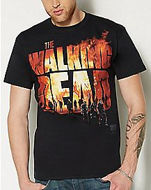 Fire The Walking Dead T shirt