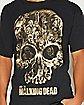 Skull The Walking Dead T shirt